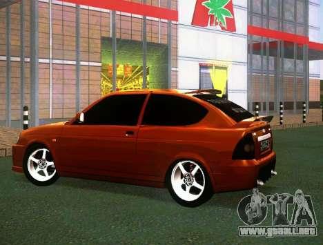 VAZ-2172 cupé Sport para la visión correcta GTA San Andreas