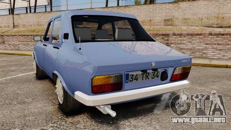 Renault 12 Toros v2.0 para GTA 4 Vista posterior izquierda