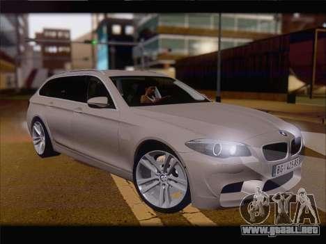 BMW M5 F11 Touring para GTA San Andreas left