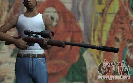 Sniper Rifle HD para GTA San Andreas tercera pantalla