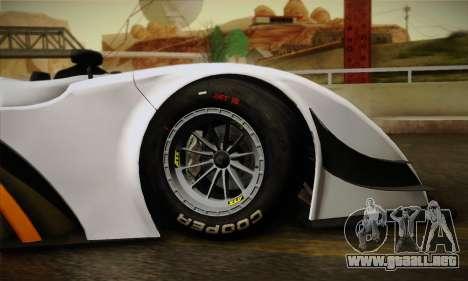 Caterham-Lola SP300.R para visión interna GTA San Andreas