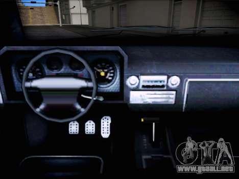 Bobcat de insípida GTA V para la visión correcta GTA San Andreas