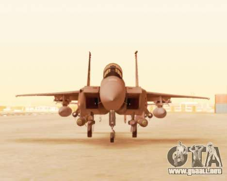 F-15E Strike Eagle para GTA San Andreas left