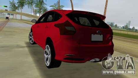 Ford Focus ST 2013 para GTA Vice City left