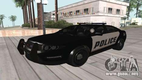 GTA V Police Cruiser para GTA San Andreas