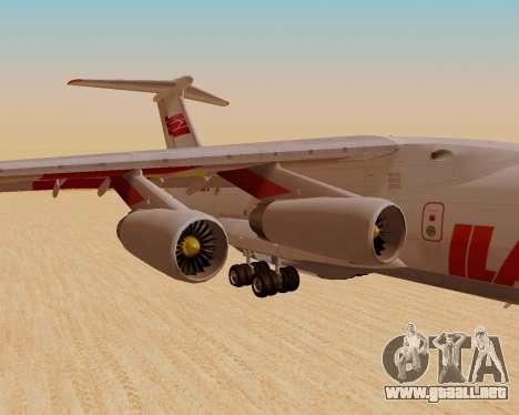 Il-76td IlAvia para la visión correcta GTA San Andreas