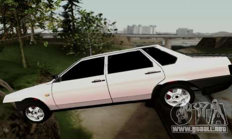 VAZ 21099 Hobo para visión interna GTA San Andreas