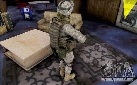 Quinton Cole para GTA San Andreas tercera pantalla
