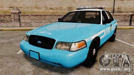 Ford Crown Victoria NYPD [ELS] para GTA 4