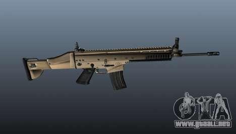 Rifle de asalto SCAR-L para GTA 4 tercera pantalla