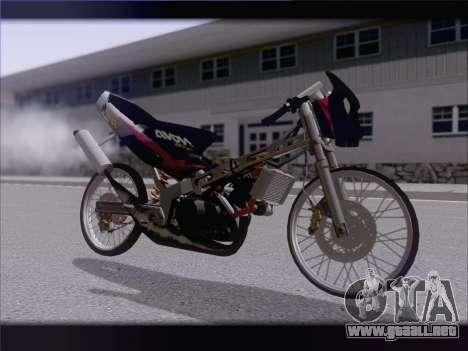 Suzuki Satria FU para GTA San Andreas left