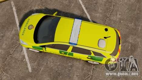 Hyundai i40 Tourer [ELS] London Ambulance para GTA 4 visión correcta