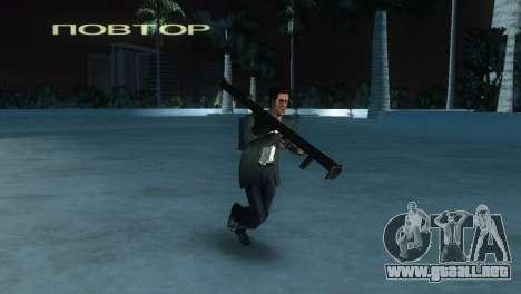 Bazuca de MoH: AA para GTA Vice City sucesivamente de pantalla