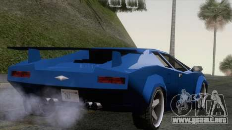 Infernus 80s para GTA San Andreas left