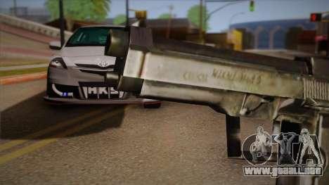 El arma de la Max Payne para GTA San Andreas tercera pantalla