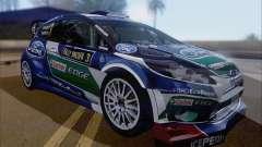 Ford Fiesta RS WRC 2013 hatchback de 3 puertas para GTA San Andreas