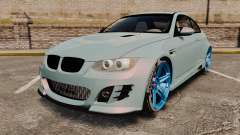 BMW M3 GTS Widebody para GTA 4