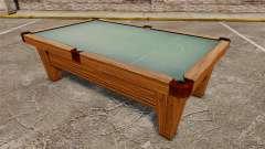 Nueva mesa de billar
