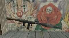 Lanzador de misiles de los Saints Row 2 para GTA San Andreas