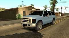 Ford Excursion para GTA San Andreas