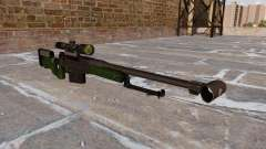 Rifle de francotirador AW50F