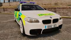 BMW M5 Ambulance [ELS] para GTA 4