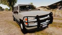 Chevrolet Suburban 1999 Police [ELS] para GTA 4