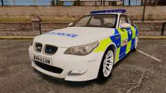 BMW M5 E60 City Of London Police [ELS] para GTA 4