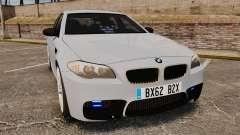 BMW M5 Unmarked Police [ELS] para GTA 4