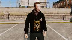 Chaqueta de cuero-Guns N Roses- para GTA 4