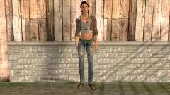 Alyx Vance de Half Life 2 para GTA San Andreas