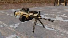 Máquina de asalto FN SCAR-L C-Mag para GTA 4