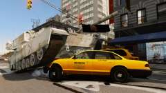 Estilo de escritura del tanque V para GTA 4