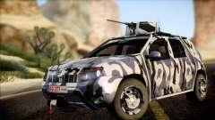 Dacia Duster Army Skin 3 para GTA San Andreas