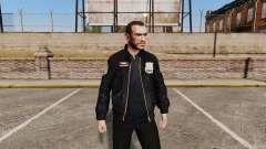 Chaqueta de policía para GTA 4