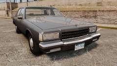 Chevrolet Caprice 1989 v2.0 para GTA 4