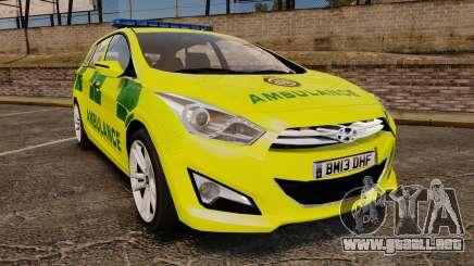 Hyundai i40 Tourer [ELS] London Ambulance para GTA 4
