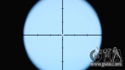 La nueva vista de rifle para GTA San Andreas
