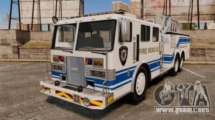 MTL Firetruck MDH1000 Midmount Ladder [ELS] para GTA 4