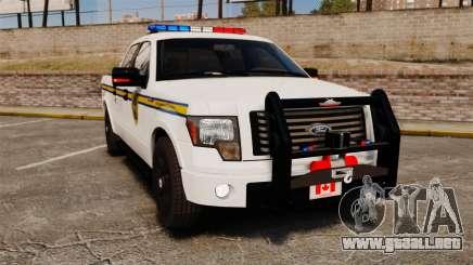 Ford F-150 2012 CEPS [ELS] para GTA 4