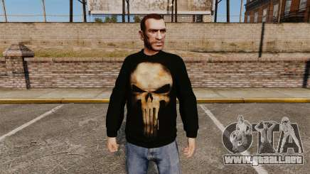 Suéter-The Punisher- para GTA 4