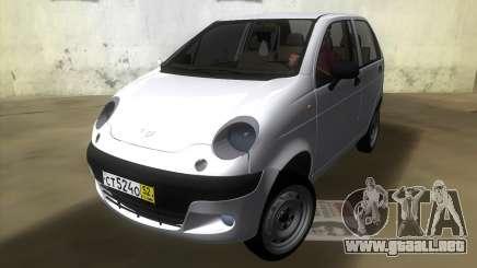 Daewoo Matiz para GTA Vice City