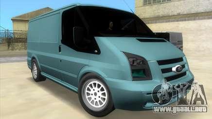 Ford Transit Sportback 2011 para GTA Vice City