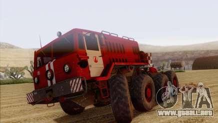 MAZ 535 bombero para GTA San Andreas