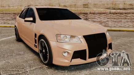 Holden HSV W427 2009 para GTA 4