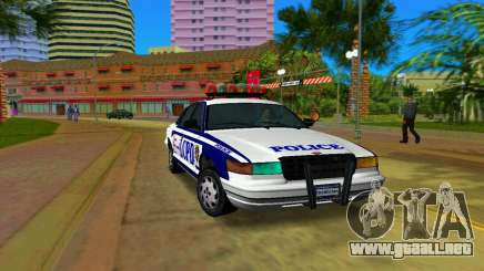 GTA IV Police Cruiser para GTA Vice City
