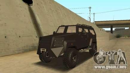 Ford Super Duty Armored para GTA San Andreas