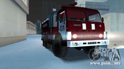 KAMAZ 43101 bombero para GTA Vice City