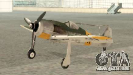Focke-Wulf FW-190 F-8 para GTA San Andreas
