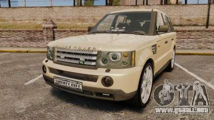 Range Rover Sport Unmarked Police [ELS] para GTA 4